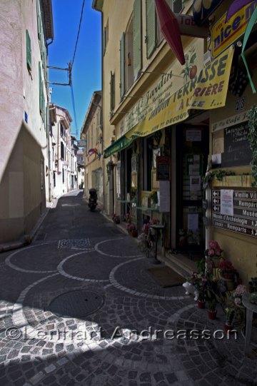 Gamla stan i Antibes
