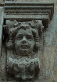 detalj fasad, ödehus Serra di Pamparato