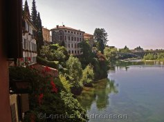 The river Brenta in Bassano del Grappa