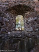 Kyrkofönster, Fänneslunda kyrkoruin
