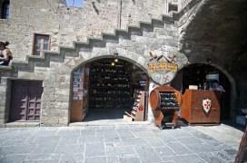 Bar och restaurang i gamla stan