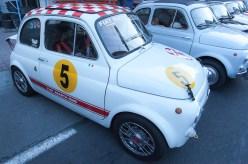 Musikfestival, Fiat 500 utställning, Abarth special