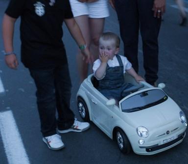 Musikfestival,alla älskar Fiat 500