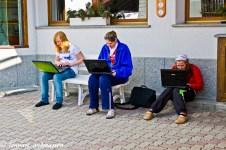 Olika nationaliteter har hittat trådlöst nätverk