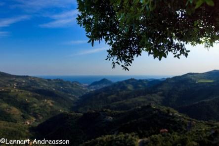 Utsikt från bergsby
