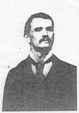 John Martin all'epoca del processo di Chicago nel 1879.