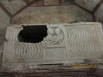 Sepolcro Pancrazi:Sarcofago coniugi - foto P.Petrocelli