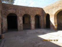 Insula delle Muse : cortile interno