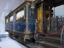 Treno di Pio IX: Carrozza con Cappella
