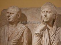 Centrale Montemartini: Statue di coniugi (provenienti dagli scavi di Via Statilia)