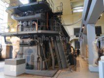 Centrale Montemartini: Generatore diesel