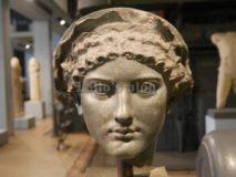 Centrale Montemartini: Testa di Agrippina minore
