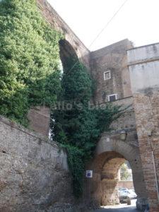 Arco di Dolabella: lato interno