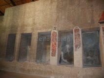 Auditorium di Mecenate: nicchie decorate alle pareti
