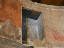 Auditorium di Mecenate: una delle nicchie dell'abside