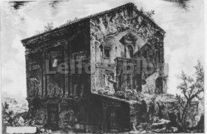 Piranesi-Tempio delle Camene