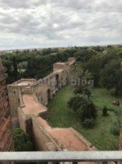 Porta S.Sebastiano: Vista delle Mura dalla Torre Ovest