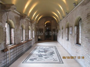 Porta S.Sebastiano: camera di manovra: il mosaico