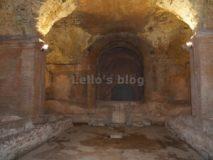 Alle Terme di Caracalla di notte: il Mitreo