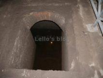 Mitreo delle Terme di Caracalla: interno della fossa sanguinis