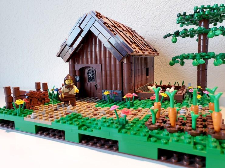 La maison du bûcheron