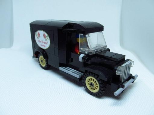 La camionnette du fleuriste