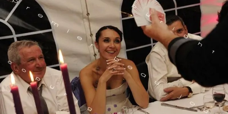 animation mariage lyon macon bourg en bresse 056 • Le Magicien de mon Mariage - Animations Mariage Originales