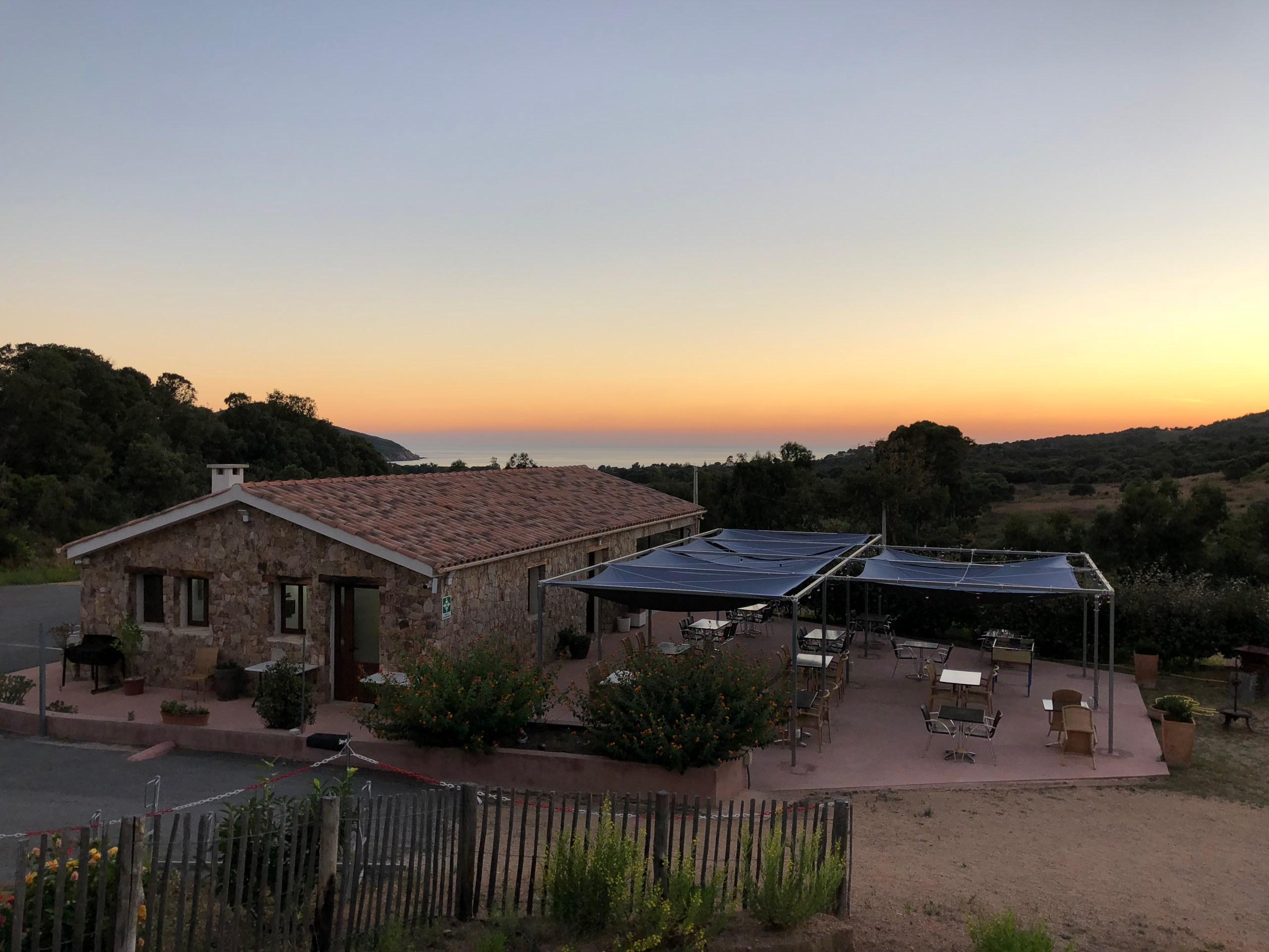 Vue panoramique - Camping à la Ferme Le Mandriale à Cargese, Corse-du-Sud