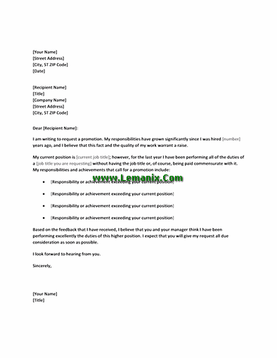 how to ask for a promotion letter jose mulinohouse co