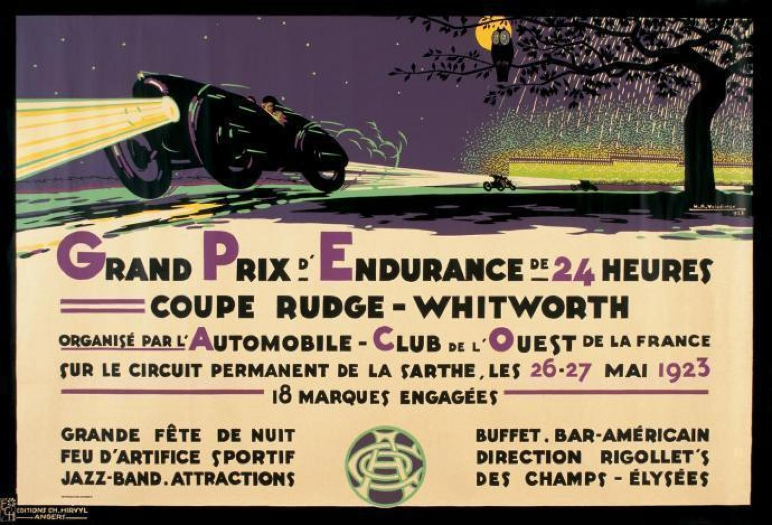 official race posters