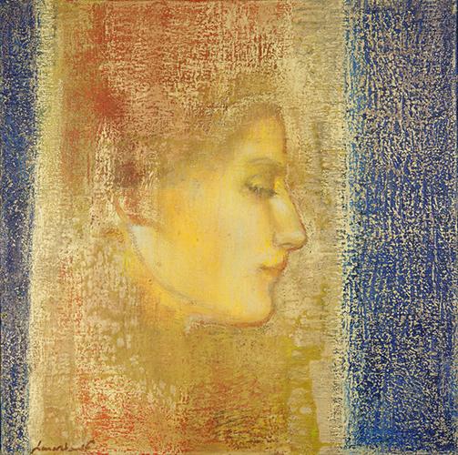 frédérique lemarchand Peinture hymne à l'âme or