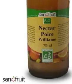 nectar de poire