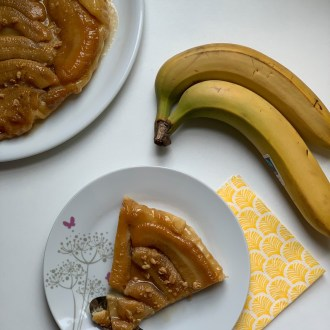 tarte satin aux bananes