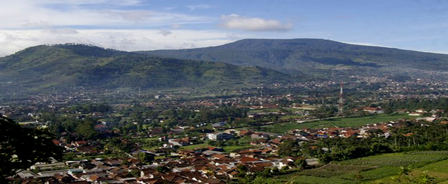 Lembang City In West Bandung Regency West Java Province Indonesia