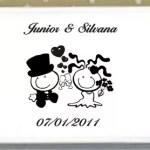 Espelho Personalizado Junior e Silvana