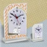 Relógio de Mesa Personalizado para casamento