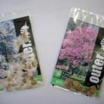 Saches personalizados com sementes