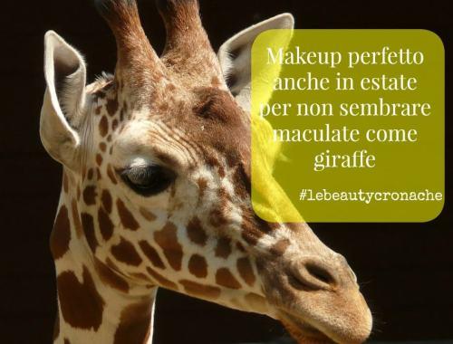 makeup sudore a macchie