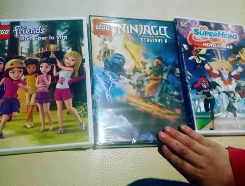 ninjago lego dvd serie