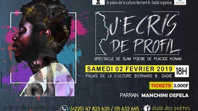 Slam/ Placide Konan de l'Ecole des poètes promet un show inédit ce 2 février