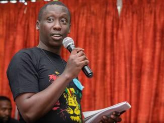 Landry Ninteretse Coordinateur 350.org Afriqu