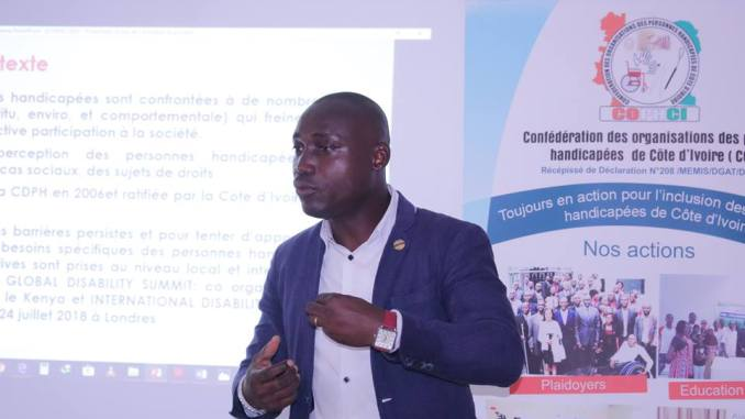 Interview/ Participation politique et citoyenne, Vincent Bohouo (COPHCI): «Que les personnes handicapées soient représentées au sein de la CEI»