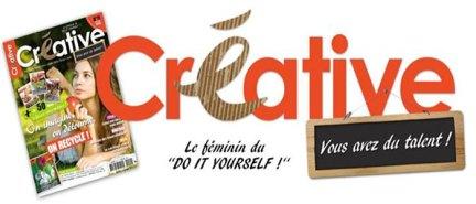 creative magazine logo
