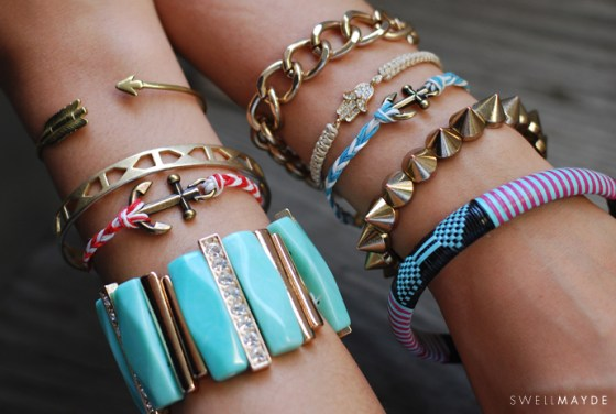 DIY Bracelet ancre marine