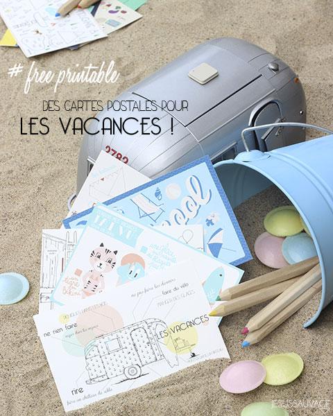 DIY Les plus belles cartes postales à imprimer