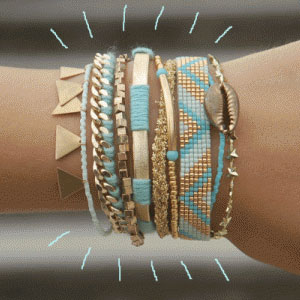 DIY comment réaliser un large bracelet Hipanema