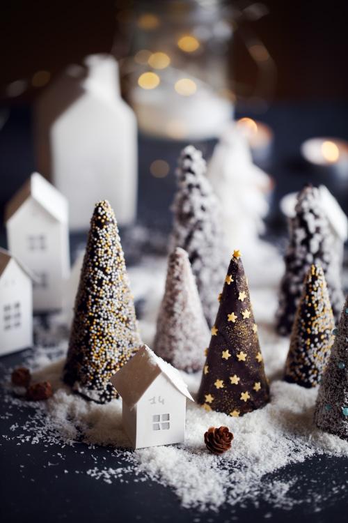 Décoration de Noël à croquer en chocolat