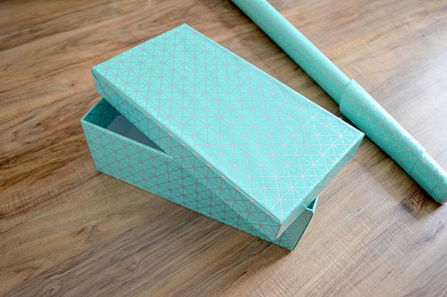 Diy apprenez relooker vos boites de rangement le meilleur du diy - Diy boite a chaussure ...