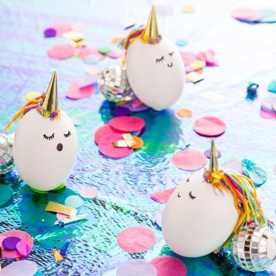 DIY Oeuf de Pâques licorne
