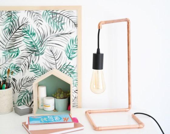 lampe décorative DIY